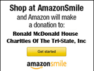 Amazon Smiles - Shop with Amazon Smiles to donate to Ronald McDonald House Charities of the Tri-State Area